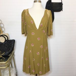NEW Free People Floral Lace Dress